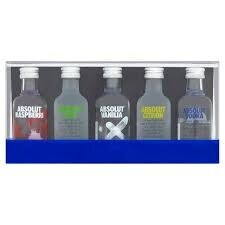 Absolut 5 X 50 ml Gift pack