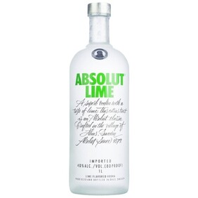 Absolut Vodka Lime 1000 ML