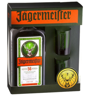 Jager 700mL Shot Glasses Gift Pack