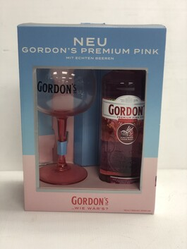 GORDON'S PINK 700ML GIFT PACK