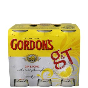 Gordon's 6 Pk Cans