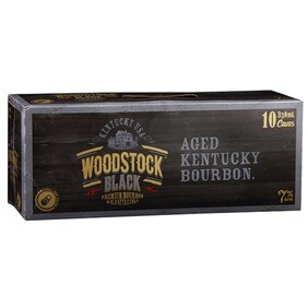 Woodstock Black 10pk Cans