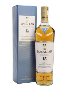 Mc Allan 15yo Triple Cask