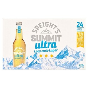 speights summit ultra 24 pk btls