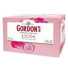 Gordon's Pink Gin 12pk Cans