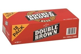 Double Brown 18pk Cans