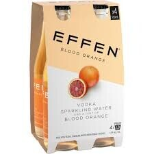 Effen Blood Orange 4pk Btls