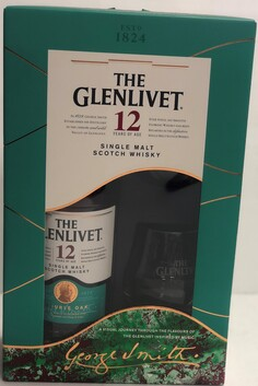GLENLIVET 12YO 700 ML GIFT PACK